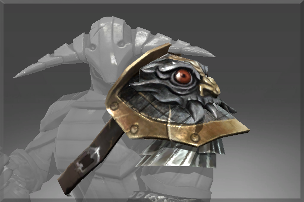 Icon for Pauldron of The Iron Drakken