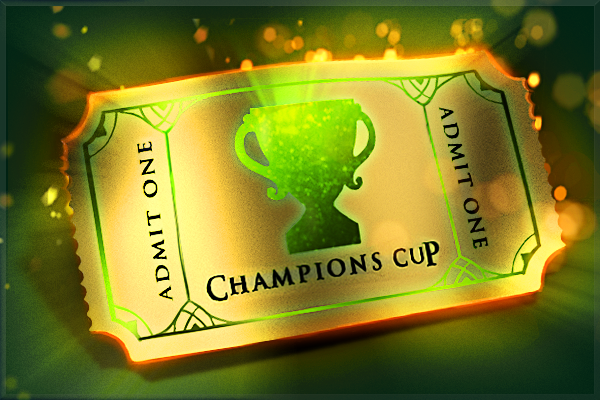 Icon for Winter 2017 Champions Cup Ticket