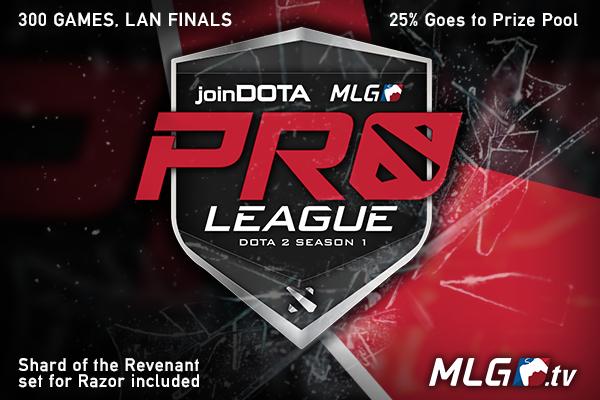 Icon for joinDOTA MLG Pro League Season 1 Ticket