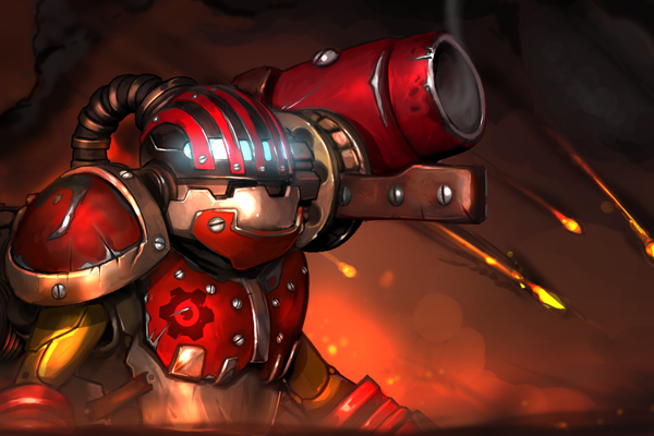 Icon for Mortar Forge Loading Screen