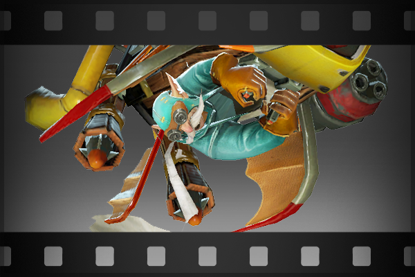 Icon for Taunt: Do a Barrel Roll!