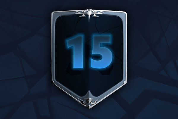 Icon for Instantly Gain 15 Battle Levels