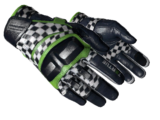 Moto Gloves Finish Line