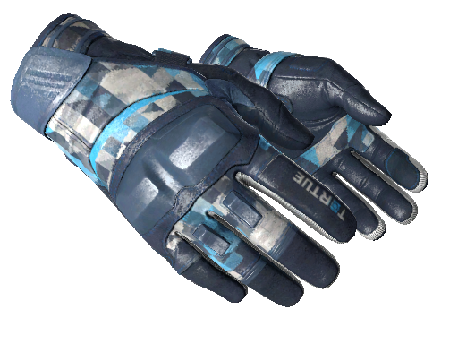 Moto Gloves Cool Mint