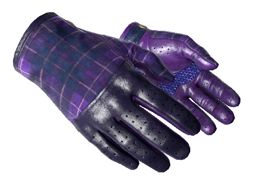 Driver Gloves Imperial Plaid