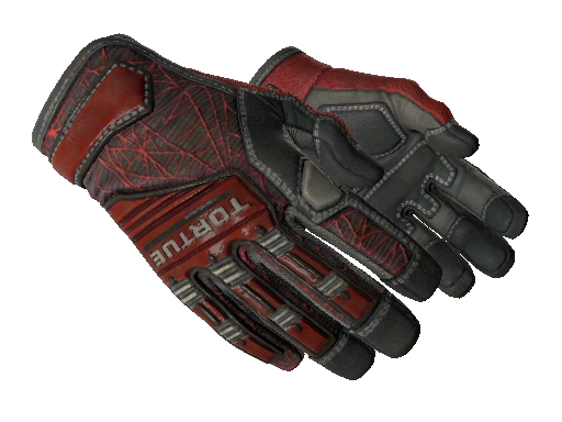 Specialist Gloves Crimson Web