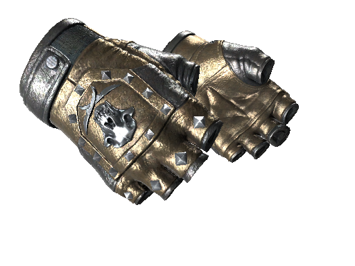 Bloodhound Gloves Bronzed