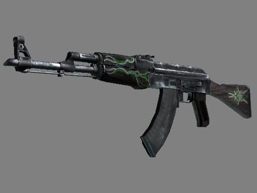 AK-47|Emerald Pinstripe