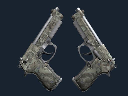 Dual Berettas Heist