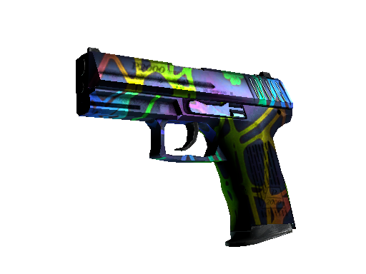 P2000 Acid Etched