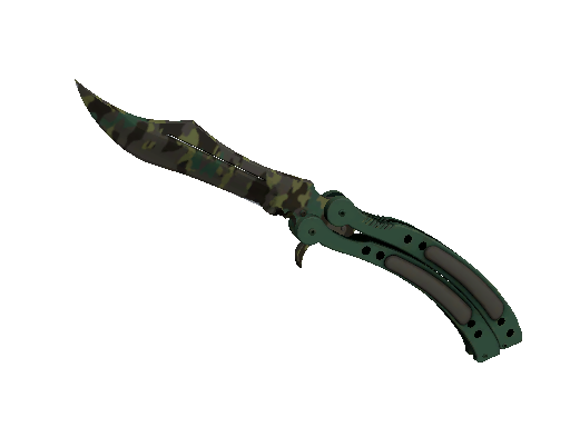 Butterfly Knife Boreal Forest