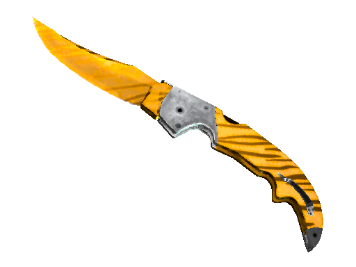 Falchion Knife Tiger Tooth