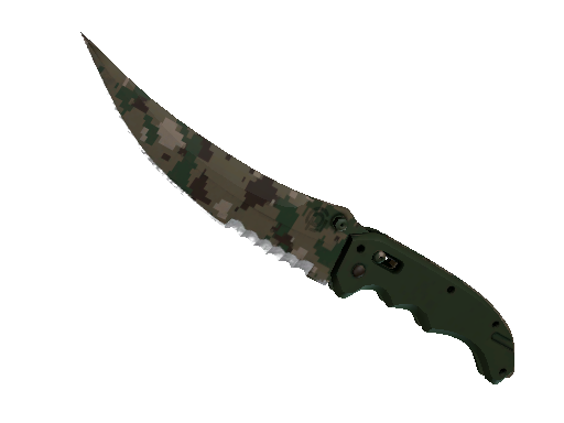 Flip Knife Forest DDPAT