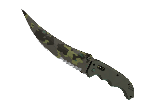 Flip Knife Boreal Forest