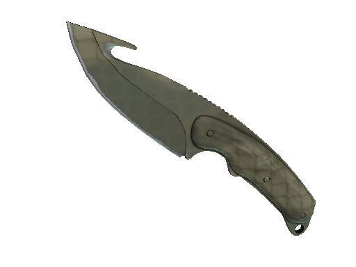 Gut Knife Safari Mesh