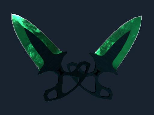 Shadow Daggers Gamma Doppler