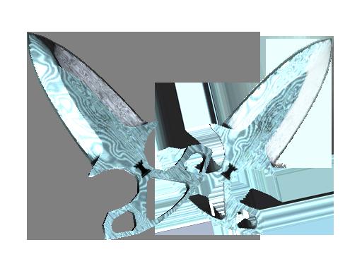 Damascus Steel | Shadow Daggers