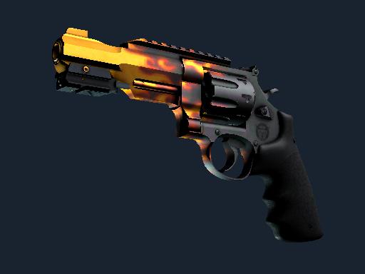 R8 Revolver Blaze