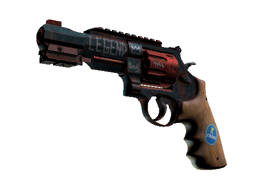 R8 Revolver Junk Yard