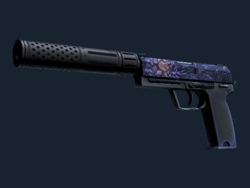 USP-S Black Lotus