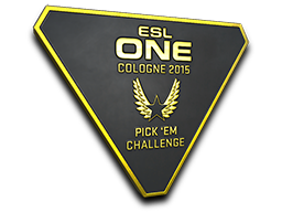 Gold Cologne 2015 Pick'Em Trophy