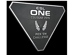 Silver Cologne 2015 Pick'Em Trophy