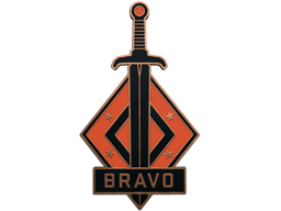 Collectible Pin - Bravo