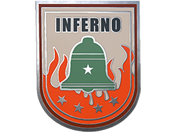 Commodity Pin - Inferno