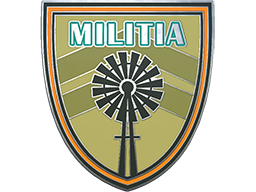 Collectible Pin - Militia