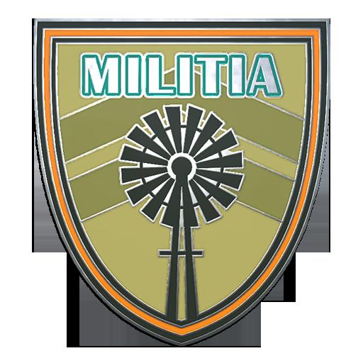 Militia+Pin