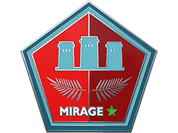 Genuine Mirage Pin