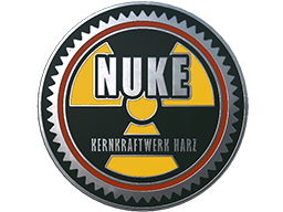 Collectible Pin - Nuke