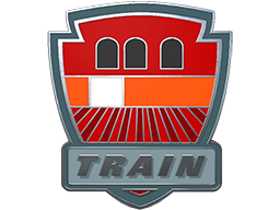 Commodity Pin - Train