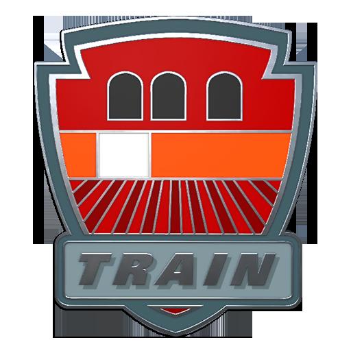 Train+Pin