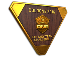 Cologne 2016 Fantasy Team Challenge Bronze