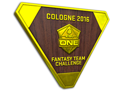 Cologne 2016 Fantasy Team Challenge Gold