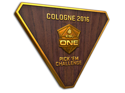 Cologne 2016 Pick 'Em Challenge Bronze