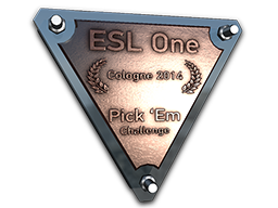 Bronze Cologne 2014 Pick'Em Trophy