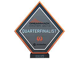 DreamHack SteelSeries 2013 CS:GO Quarterfinalist