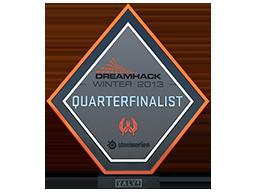 DreamHack SteelSeries 2013 CS:GO Quarterfinalist
