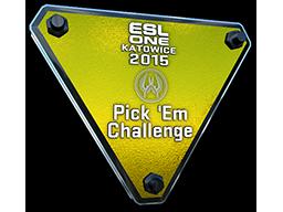 ESL One Katowice 2015 Pick 'Em Challenge Gold