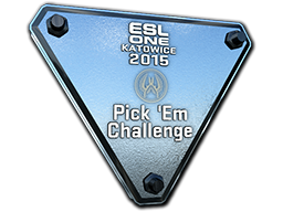 Silver Katowice 2015 Pick'Em Trophy