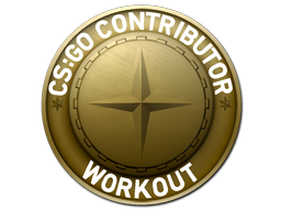 Workout Map Coin