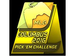 MLG Columbus 2016 Pick 'Em Challenge Gold