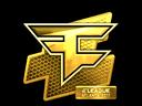 Sticker | FaZe Clan (Gold) | Atlanta 2017