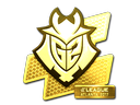Sticker | G2 Esports (Gold) | Atlanta 2017