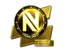 Sticker | Team EnVyUs (Gold) | Atlanta 2017