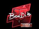 bondik (Foil) | Atlanta 2017