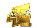 Sticker | karrigan (Gold) | Atlanta 2017