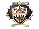 Sticker | forZe eSports (Gold) | Berlin 2019